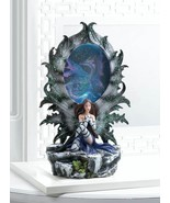 Mystical Fairy and Dragon Lighted Figurine - $37.95