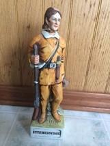Limited EDITION DAVID Davy CROCKETT PORCELAIN Bourbon WHISKEY DECANTER - $107.18