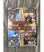 Legends of the World - 4 Epic PC Games BRAND NEW SEALED - $10.99