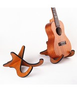 Electric Acoustic Folk Guitar Bass Ukulele Stand Wooden Guitarra Accesso... - $4.61