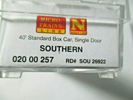 Micro-Trains # 02000257 Southern 40' Standard Boxcar Grain Hauling N-Scale image 8