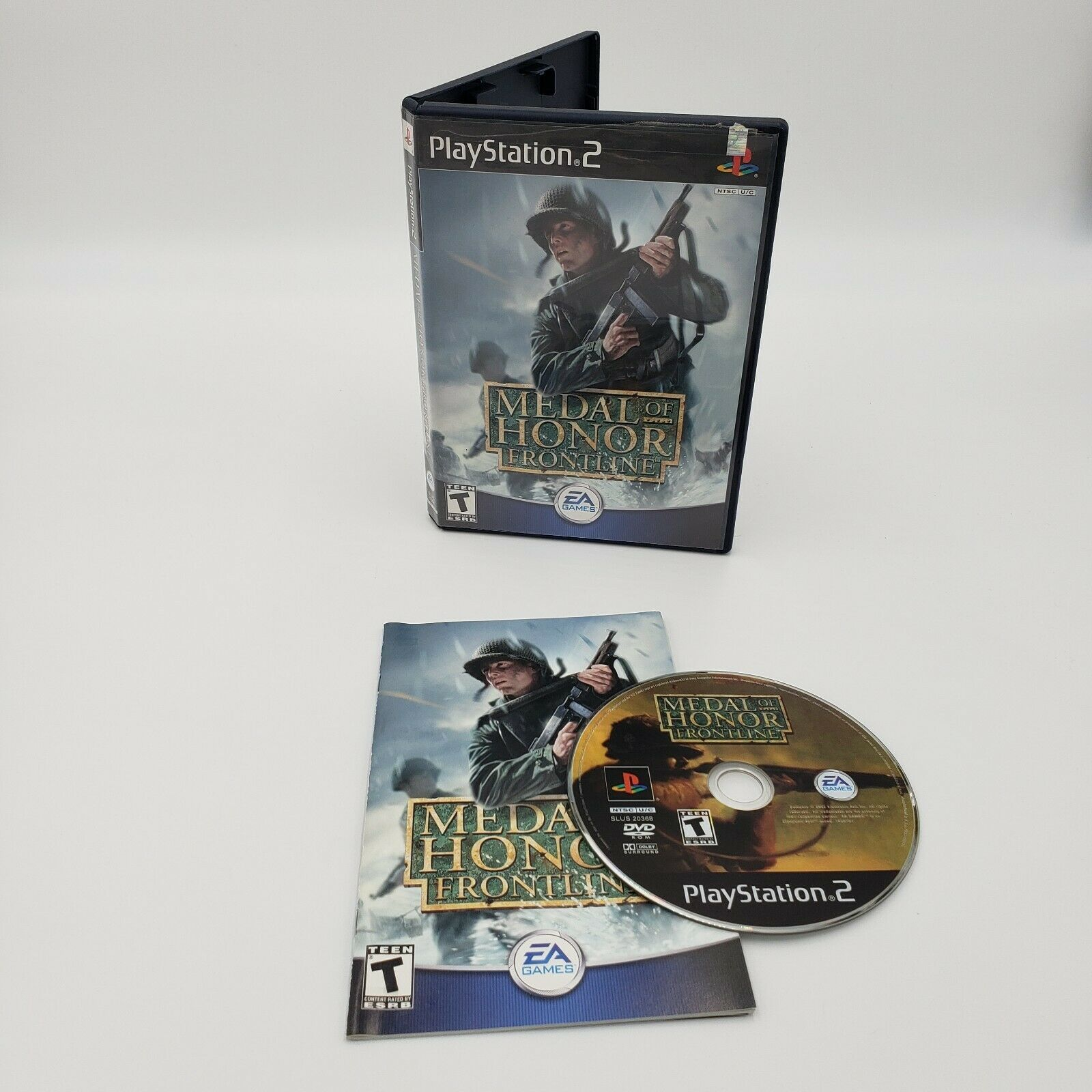Medal of Honor: Frontline (Sony PlayStation 2, 2002) Complete CIB Tested Working - $2.20
