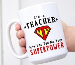 Teacher Mug, Funny Teacher Mug, Best Teacher Mug Gift, Teacher Appreciat... - $18.86