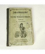 Antique 1800s German Elementary Primer School Book Lindemann - $38.08