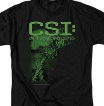 CSI T-shirt Crime Scene Investigation Crime drama TV series graphic tee CBS124 image 3
