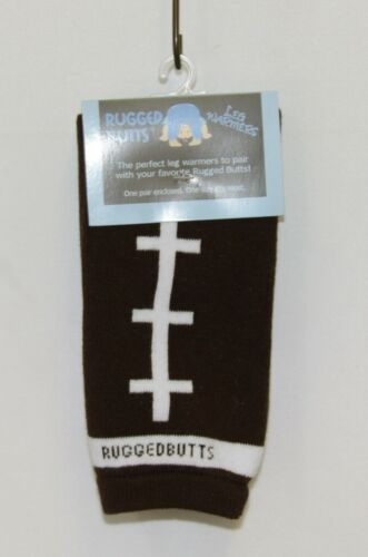 Rugged Butts LWKBROSFB00 Leg Warmers Football Design One Size