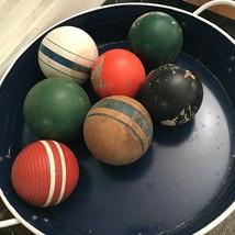 Old vintage croquet balls  - $36.63