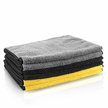 MATCC Microfibre Cleaning Cloths 16'' x 32'' Microfiber Towels for Cars ... - $28.05
