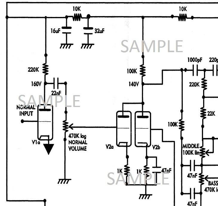 HIWATT DR103 100W Amplifier Diagram and 50 similar items on marshall avt 100 input schematic, guitar amp effects loop schematic, soldano atomic 16 schematic, silvertone 1482 schematic, peavey classic 50 schematic, ibanez tsa15h schematic, mig 100 schematic, slo-100 schematic,