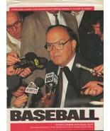 Fay Vincent Signed Vintage Magazine Photo MLB Commissioner - $29.69