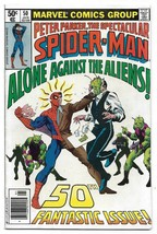 Bronze Age 1981 The Spectacular Spiderman Comic 50 from Marvel Comics  - $4.95