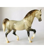Breyer #1103 Pippin Glossy Rose Grey Collector's Edition 2000 Arab Fam S... - $38.69