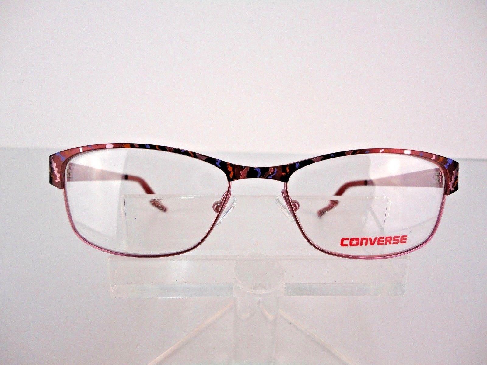 e84874a342e NEW Converse All Star K014 Burgundy 50 x 16 135 mm Kids Eyeglass Frames