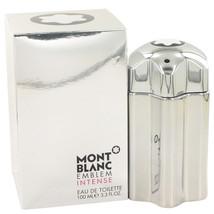 Mont Blanc Montblanc Emblem Intense Cologne 3.3 Oz Eau De Toilette Spray image 3