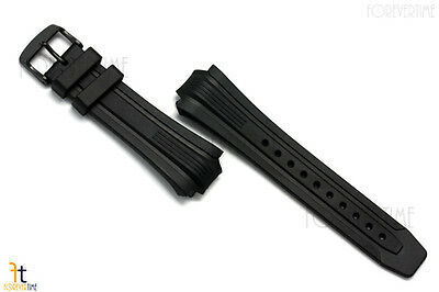 Citizen Eco-Drive BN0095-08A Black Rubber Watch Band Strap BN0095-08E image 8