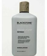 Blackstone Mens Grooming Refresh Moisturizer Sandalwood 8oz each Bottle - $15.25