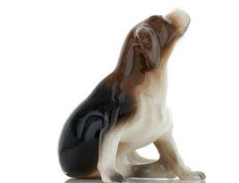 Hagen Renaker Specialty Dog Beagle with Beard Ceramic Figurine Larger Size image 6