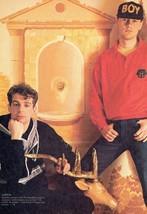 Pet Shop Boys teen magazine pinup clipping Rockline Bop Tiger Beat Superteen