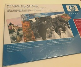 """HP Q8728A Hahnemuhle Inkjet Smooth Fine Art Paper 13"""" x 19"""" 50 sheets New - $47.51"""