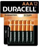 NEW Duracell Copper Top Battery, AAA , Qty 12 , 1.5 V - $11.30