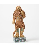 "Jim Shore Wizard of Oz""Cowardly Lion If I Only Had The Nerve"" 4045417 En... - $102.21"
