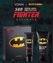 Vonin X Batman Ultimate Sun Fighter Spf 50+ ALL-IN-ONE Cl EAN Ser For Men Korea - $37.50
