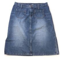 Women's Abercrombie & Fitch A&F Denim Jean Skirt, Size 8 - EXCELLENT - $14.84