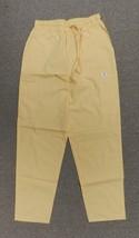 Scrubs Cargo Pants Expo Banana Yellow XS Elastic Drawstring Uniform Bott... - $13.55
