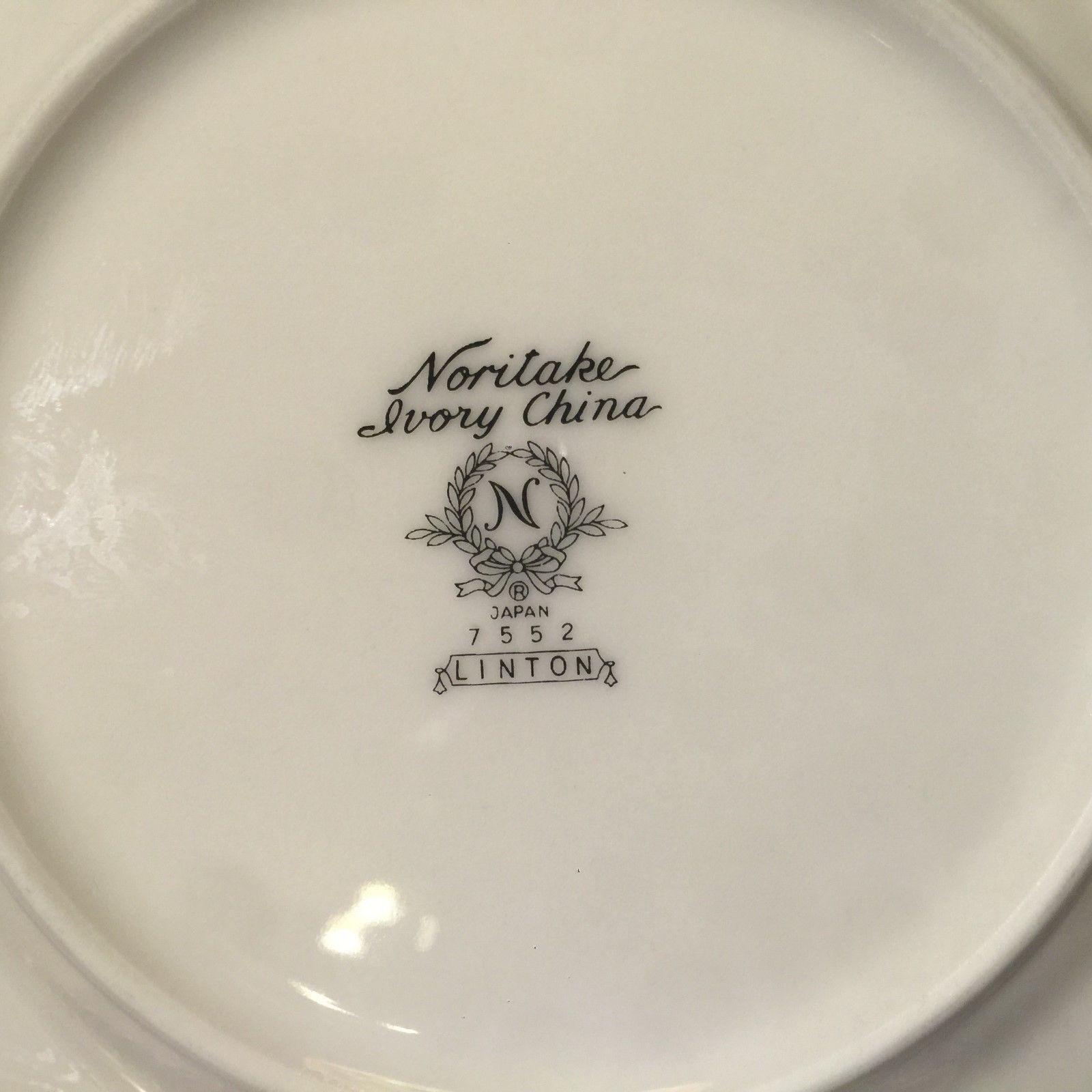 "8 1//4/"" DIAMETER .........../& WHITEBROOK by NORITKE ~ SALAD LUNCHEON PLATE s"