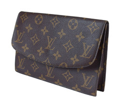 Auth LOUIS VUITTON Monogram Canvas Pouch Accessories Pouch Bag LP2268 - $319.00