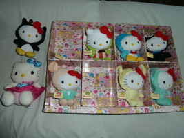 Hello Kitty Dressed Up In Sanrio Clothes Costume Bean Bag Plush Keroppi ... - $128.69