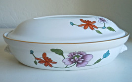 Royal Worcester Astley Oval Covered Casserole Flat Handle New - $45.04