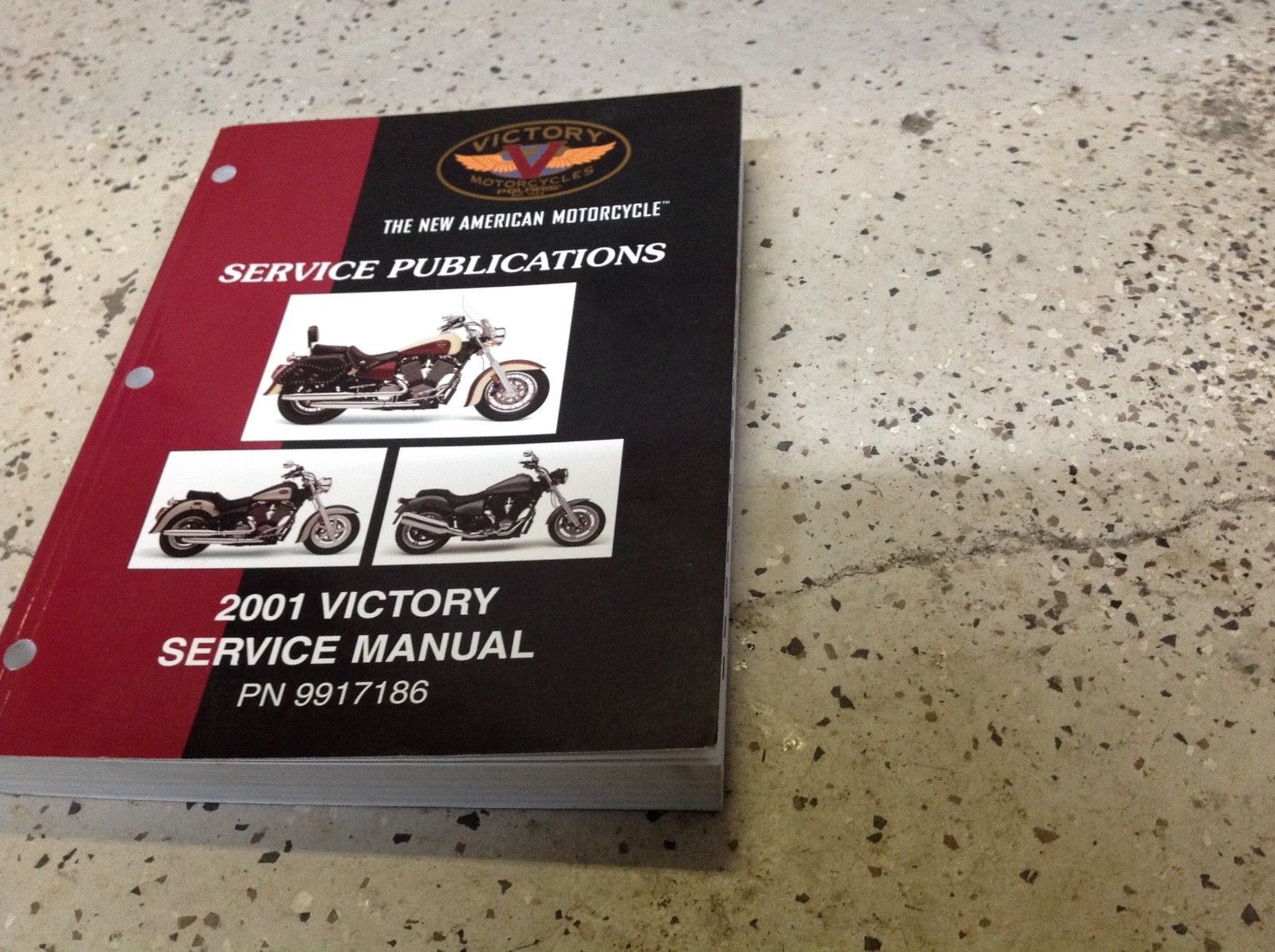 2001 POLARIS VICTORY Service Shop Repair Workshop Publications Manual OEM