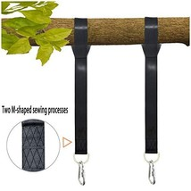 Tree Swing Straps Hanging Kit, 5 FT, Holds 2600 lbs, 2 Heavy Duty Carabi... - $16.38