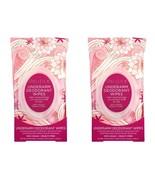 2 Pacifica Rose Underarm Deodorant Wipes 30ct ea  (60  total) NEW Sealed... - $19.79