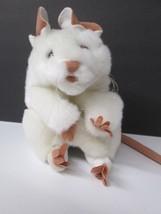 """7"""" Folkmanis White Mouse Full Body Hand Puppet Plush Folktails Long 10"""" ... - $19.79"""