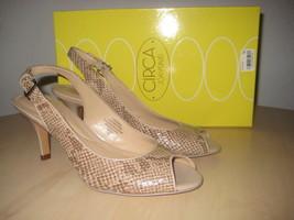 Circa Joan & David New Womens Zelenia Open Toe Slingback Heels 6 M Shoes - $68.31