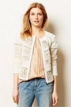Nwt Anthropologie Idyllwild Lace Ivory Jacket By Elevenses 4 - $113.99