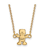 Ss/Gold Plated Sterling Silver With Gp Logoart Sigma Delta Tau Xs Pend N... - $36.75