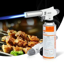 920 Wind Fully Automatic Electronic Flame Gun Butane Burners Gas Adapter... - €10,17 EUR