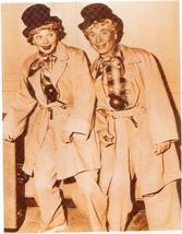 I Love Lucy Lucille Ball Harpo Marx Vintage 8X10 Sepia TV Memorabilia Photo - $4.99