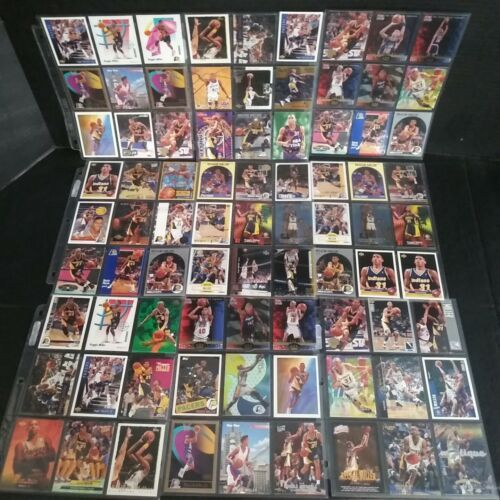Vintage Lot 81 Reggie Miller NBA Basketball Trading Card