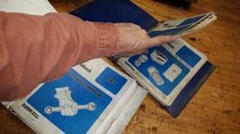 Bobcat 843 Service parts owners Repair Manual book guide printed paper (3 books) - $107.91