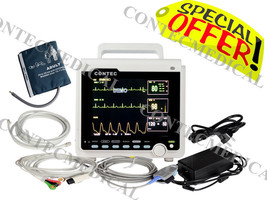 CE Portable 4 Parameter 8.4 Inch ICU Vital Signs Patient Monitor CONTEC ... - $513.81
