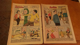 Lot of 2 complete comics NO covers PEP # 160 Jan 1963 & Archie #132 Nov ... - $4.99