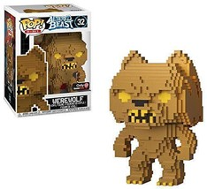 Funko Pop 8 Bit: Altered Beasts-Greek Warrior (Gold Werewolf) Collectibl... - $14.40