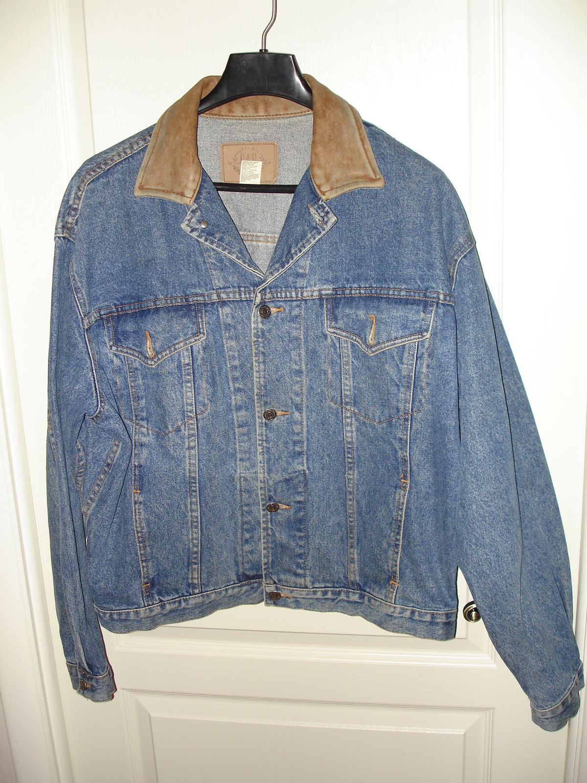 Primary image for Gap Denim Jean Jacket -Mens- Regular Large (L) - Blue -- 30-5006