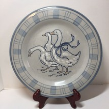 """Dinner Plate Gaggle of Geese Louisville Stoneware 11"""" - $11.64"""