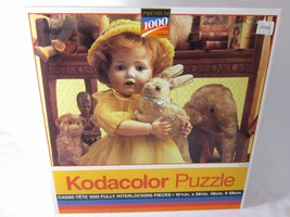 """Kodacolor Roseart 1000 Pc PUZZLE No.44444 """"TOY SHELF"""" 1994 Sealed - $9.40"""