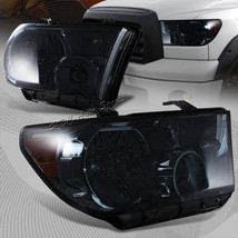 For 2007-2013 Toyota Tundra Chrome Housing Smoke Len Headlight W/Amber Reflector - $136.50